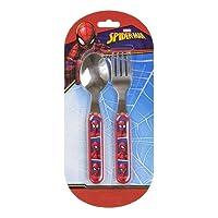 Palleon Cubiertos Infantil 2piezas Tenedor/Cuchara Guerra De Las Galaxias Spiderman Cars Frozen