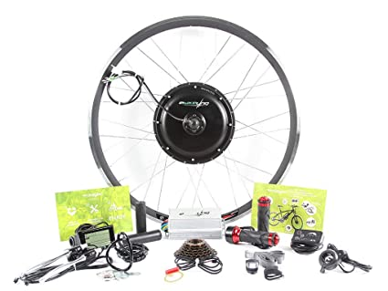"""717f585db27 EBIKELING 48V 1200W 26"""" Direct Drive Front Or Rear Electric Bicycle  Conversion Kit (Front"""