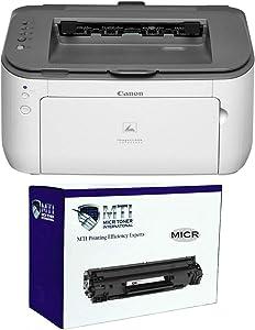 MICR Toner International imageCLASS LBP6230dw Wireless Laser Check Printer Bundle with Compatible Canon 126 MICR Toner Cartridge