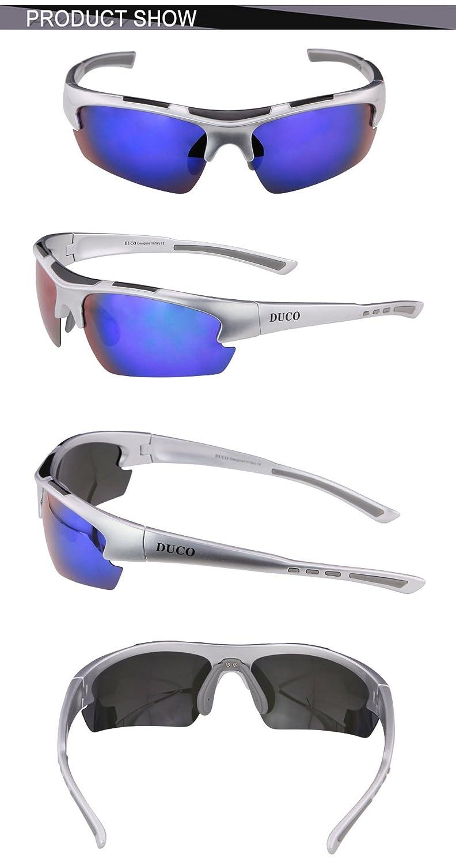 DUCO polarisiert Designer Mode SportSonnenbrille für Sport Fahrrad ...