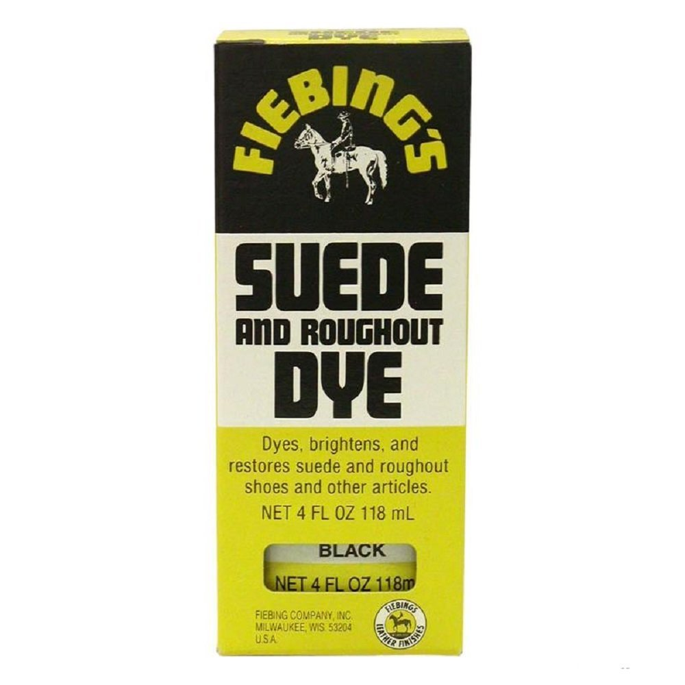 Fiebing Suede & Rought out Dye 4 oz Color - (Yellow) by Fiebing's