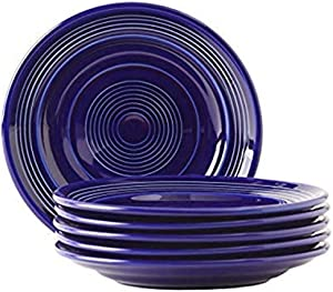Tuxton Home THCCA074-6B Concentrix Salad Plate, 7.5-Inch, Cobalt Blue