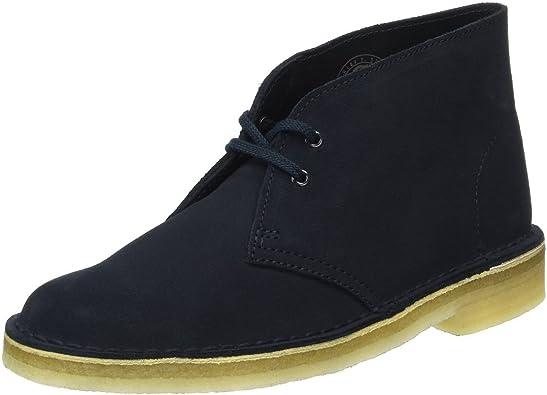 Desert Boots, Blue Dark Navy Suede