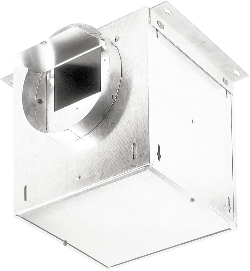 Broan HLB3 External In-Line Blower for Broan Range Hoods, Ventilation for Kitchen, Home, and Commercial Areas, 280 CFM