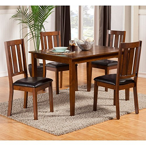 Alpine Furniture Pratt 5 Piece Dining Table Set