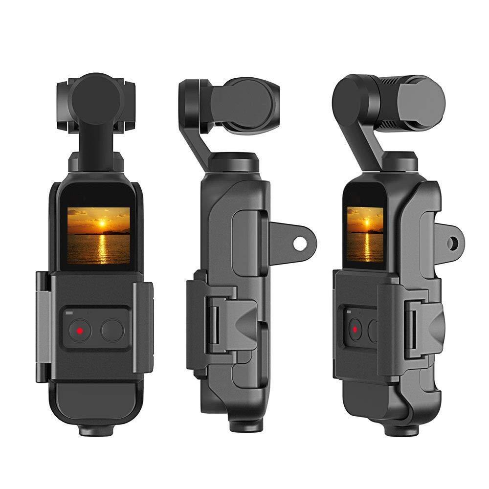 Solovley カメラプロテクター ブラケット 転送ボックス 多機能三脚マウントスタンド 保護カバーブラケット DJI OSMO ポケットジンバル用   B07QMMZPN4