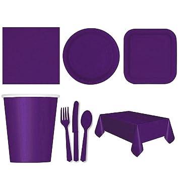 Vajilla Catering – Diadia – Servilletas desechables de colores sólidos para fiesta, bebidas, eventos