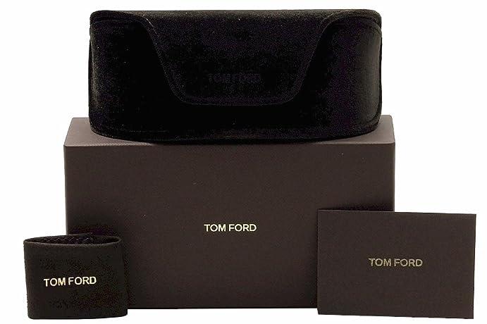 da03162e30e5 Amazon.com  Tom Ford Whitney TF 9 692 Dark Brown   Brown Gradient  Clothing