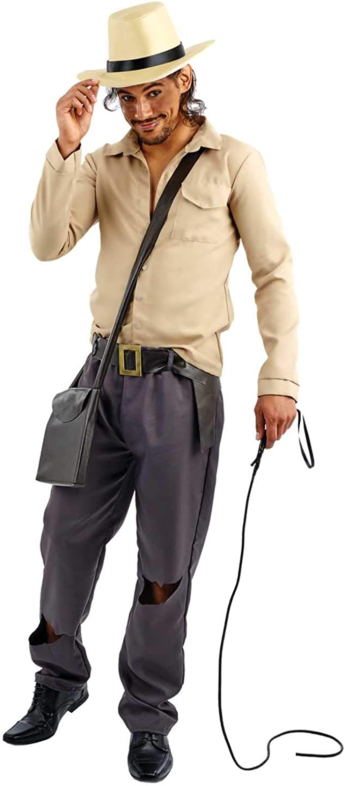 Fun Shack Marrón Arqueólogo Aventurero Disfraz para Hombres ...