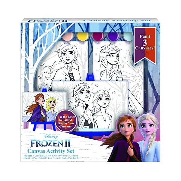 Disney-Frozen-2-Paint-Set-for-Kids-Elsa-Painting-Set-with-3-Canvases