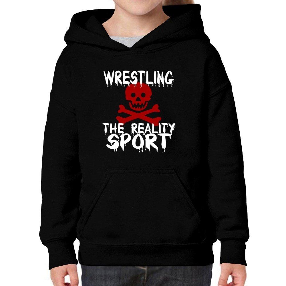 Teeburon Wrestling The Reality Sport Girl Hoodie