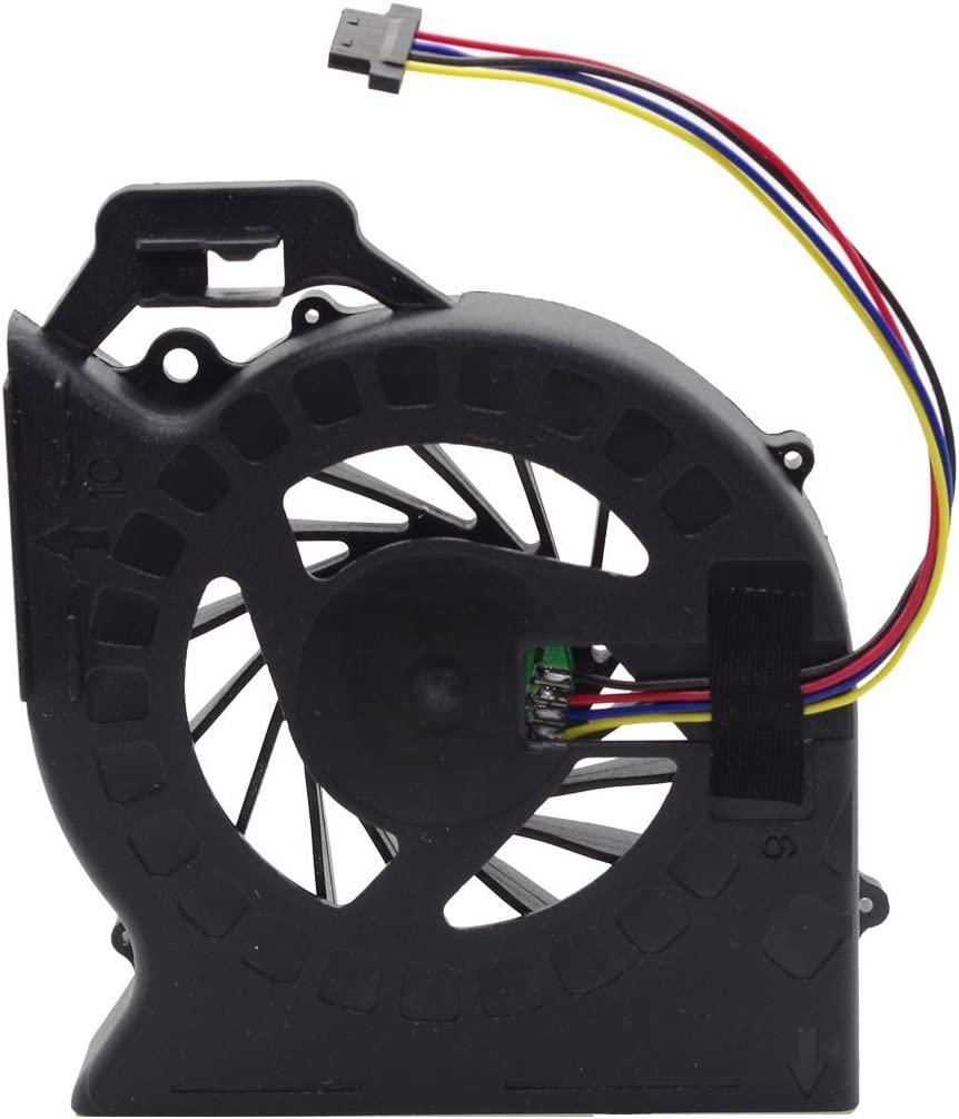iiFix New CPU Cooling Fan Cooler For HP Pavilion dv6-6149nr dv6-6150us dv6-6152nr dv6-6153ca dv6-6153cl dv6-6154nr dv6-6138nr dv6-6140us dv6-6144ca dv6-6145ca dv6-6145dx dv6-6148ca dv6-6148nr