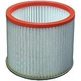 Ribimex - Filtro HEPA con jaula metálica para aspirador de cenizas