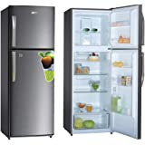 Super General 410 Liter Compact Refrigerator/ Silver/ LED Lighting/ Child-Lock/ Frost-Free/ 60 x 65 x 170 cm/ SGR410I
