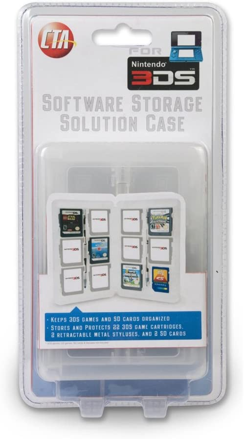Amazon.com: CTA Digital Nintendo 3Ds Cartridge Storage ...