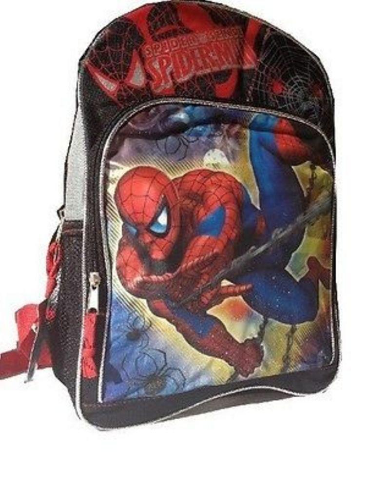 [スパイダーマン]Spider-Man 16 Marvel Spiderman Large Backpack SPC9S7-W [並行輸入品]   B00KMGP73M