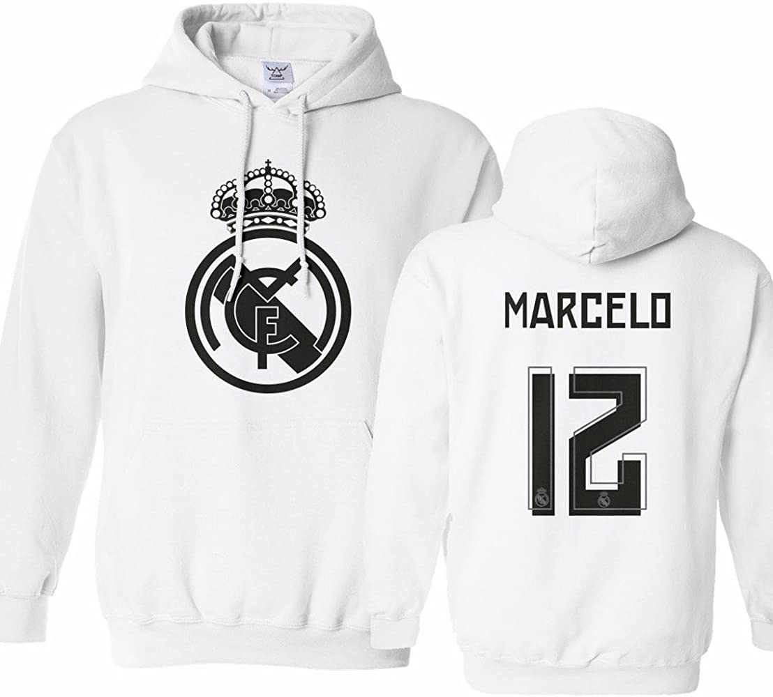 detailed look 398f9 2138e Tcamp Real Madrid Shirt Marcelo Vieira #12 Jersey Youth ...