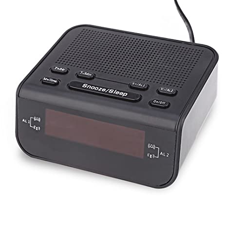 Home hotel alarm clock 0.6 inch LED clock radio AM / FM clock radio