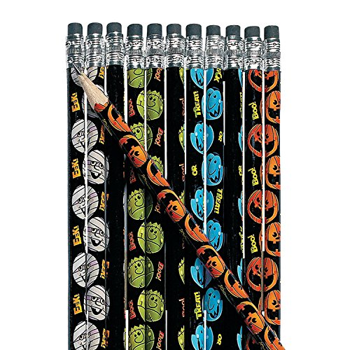 Boo Bunch Halloween Pencils ~ 24 Pencils ~ #2 Lead ~ New (Halloween Party Writing)
