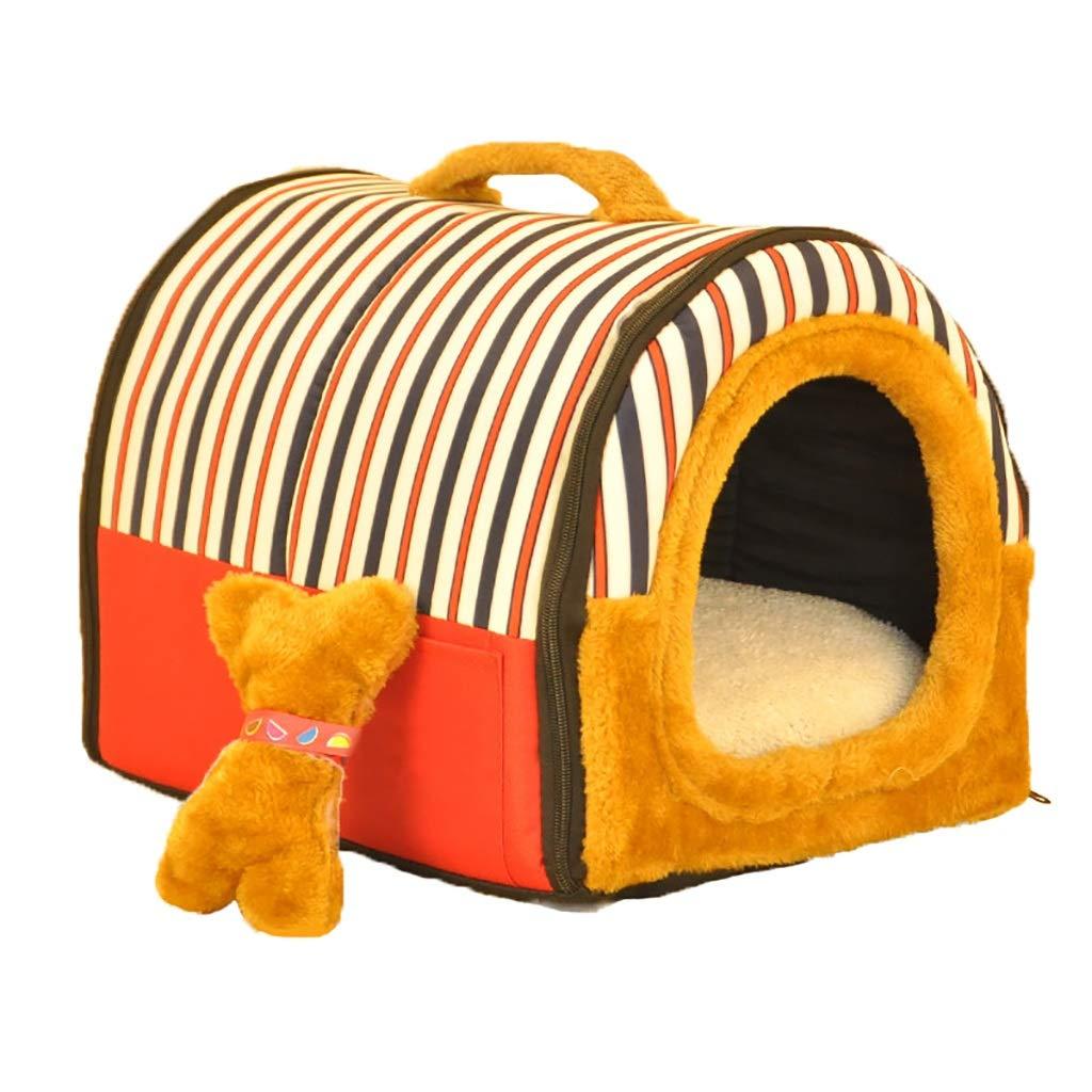 ペットハウス犬猫ネストウォッシャブル折りたたみ可能小型犬ミディアム犬ペットベッドペットマット複数の色選択ユニバーサル年中 (色 : A, サイズ さいず : 71*55*55) B07L84RNW1 G g 37*30*30 37*30*30 G g