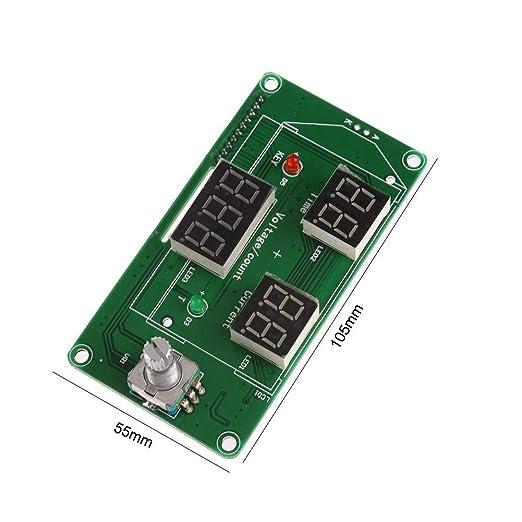 Prosperveil-Tablero del panel de control digital del módulo de controlador de corriente DIS puntual: Amazon.es: Industria, empresas y ciencia