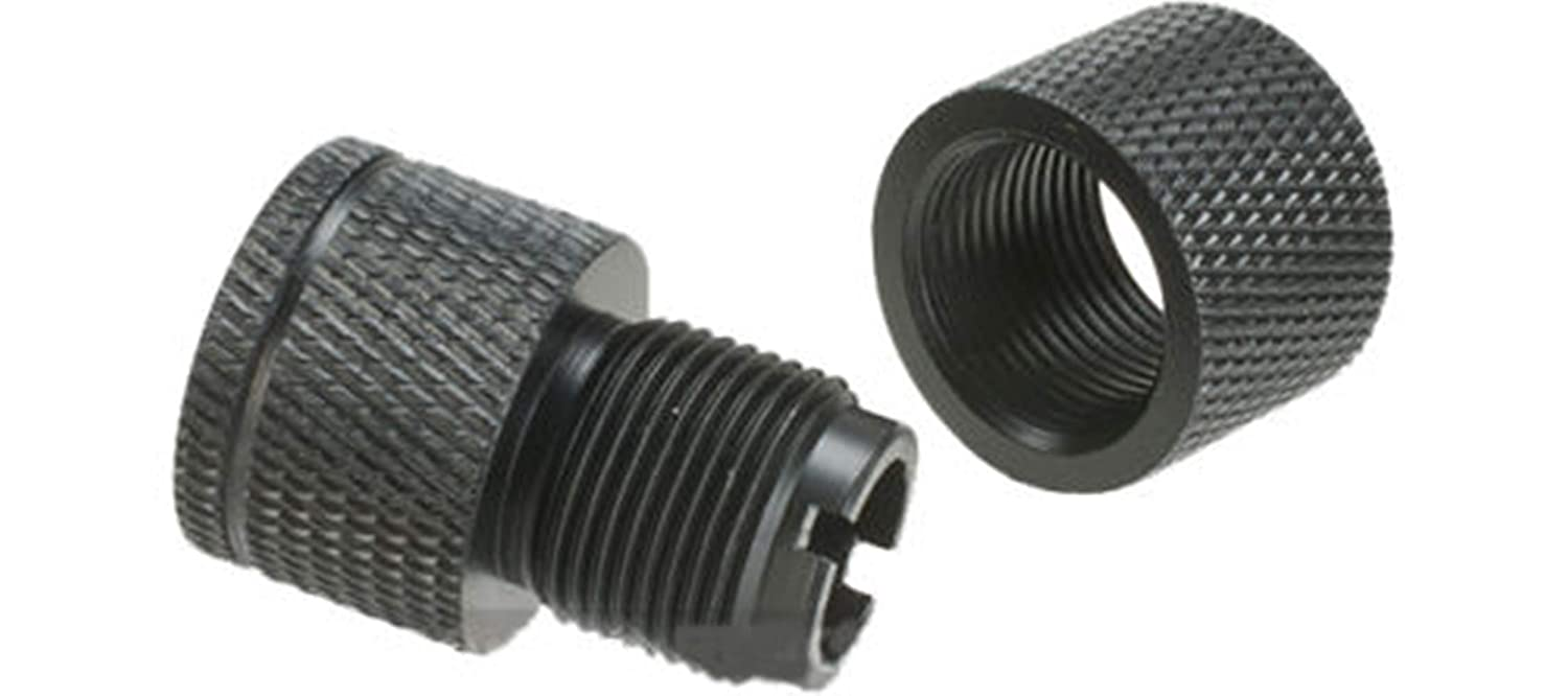 Amazon com : AirSoft CNC Machined Steel Adapter 16mm CW to