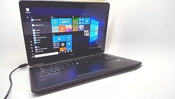 Dell Latitude E7450 Intel i5-5300U 2 3GHz 8GB 256GB SSD 14' Win8 1Pr, Black  (Renewed)