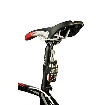 Portabombonas Porta bombona ZEFAL Porta para 2 Bombonas CO2 Holder CO 2 para Bicicleta 6239: Amazon.es: Deportes y aire libre