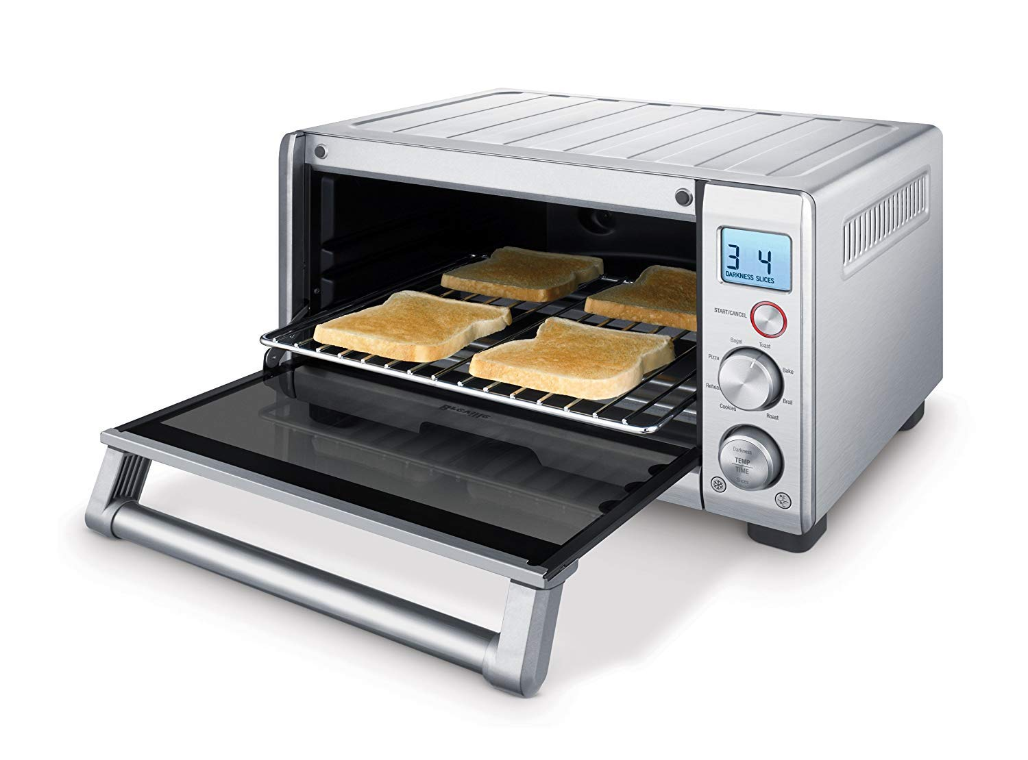 Breville the Compact Smart Oven 1800W Convection Toaster Oven - BOV650XL by Breville (Image #2)