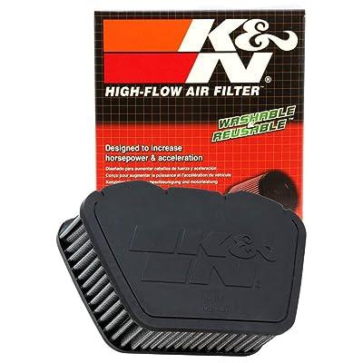 K&N Engine Air Filter: High Performance, Premium, Powersport Air Filter: 2007-2020 YAMAHA (XVS13 Stryker, XVS1300, V-Star, Deluxe, Tourer, XVS950, XVS13, Bullet Cowl, XVS950CT, XVS1300A) YA-1307: Automotive [5Bkhe2006916]