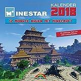 Kalender 2018 - 12 Monate Bauen mit Minecraft - Mit Spieletipps und vielen Crafting Rezepten