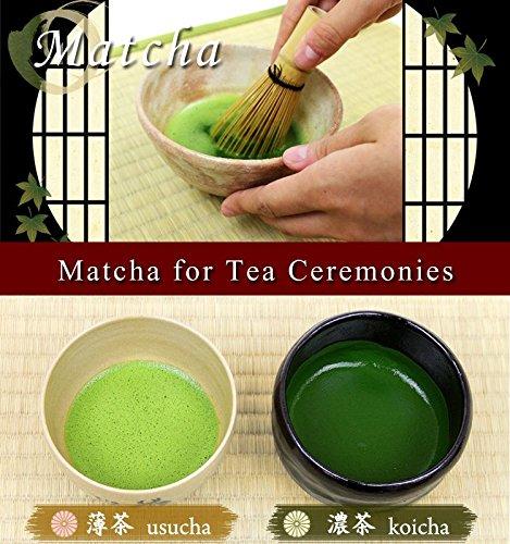Seiun 150g tin, Premium Ceremonial Grade Uji Matcha Green Tea Powder from Yamamasa Koyamaen, Kyoto by Yamamasa Koyamaen (Image #4)