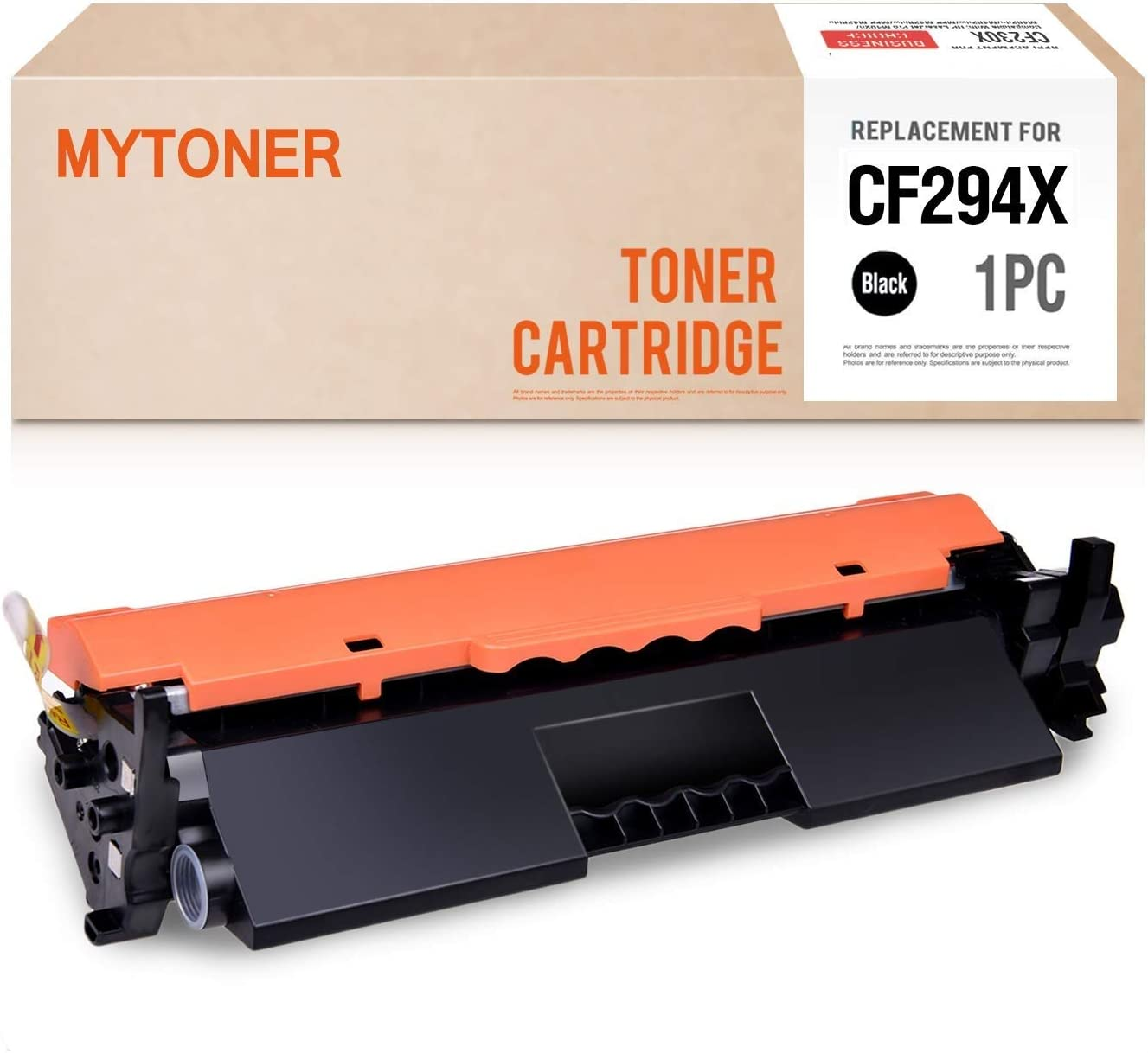 MYTONER Compatible Toner Cartridge Replacement for HP CF294X 94X CF294A 94A High Yield Toner for HP Laserjet Pro M118dw MFP M148dw M148fdw M149fdw Printer Ink (Black, 1-Pack)