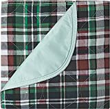 Platinum Care Pads™ Washable Reusable Bed Pads For Incontinence - Size 34x36 Plaid (12)