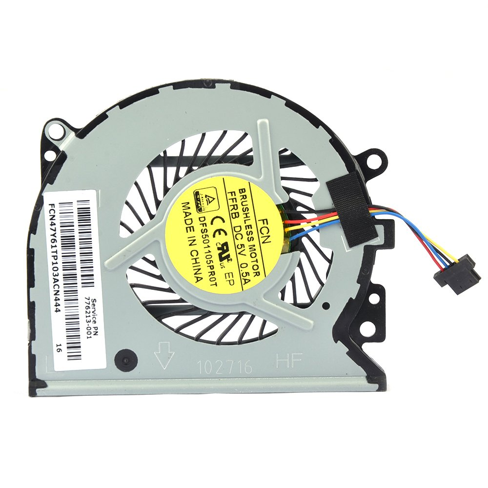 Eathtek Replacement CPU Cooling Fan for HP Pavilion 13-A010dx X360 Envy  15-u 15-u100ng 15-u110dx 15-U111DX 15-U005TX 5-U011D 15-u010dx 15-u483cl