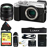 Panasonic DMC-GX8 (SLK2) Lumix Digital Camera Bundle (Silver)