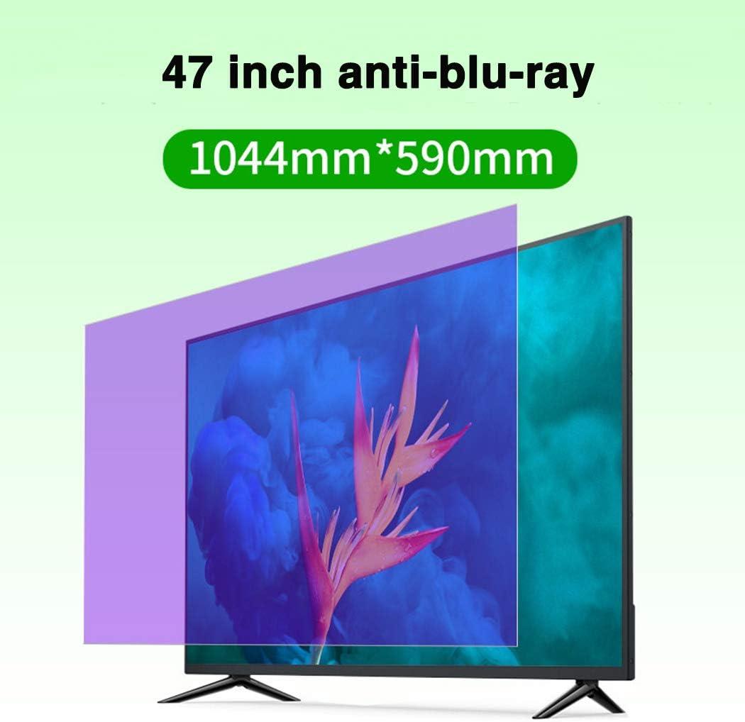 JAY-LONG Protector De Pantalla De TV De Luz Anti-Azul De 47 Pulgadas - Reducción De Radiación/Anti-UV/Protección Ocular Películas Anti-Arañazos: Amazon.es: Hogar