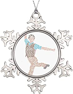 VinMea Newsies- Seize The Day Christmas Snowflake Ornaments Ideas for Decorating Christmas Trees