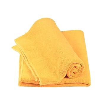 UHAoo Toallas de Secado de Coches de Microfibra Paños de Limpieza absorbentes para Autos Felpa Toallas de Lavado de Autos Gruesas Toallas de detallado ...
