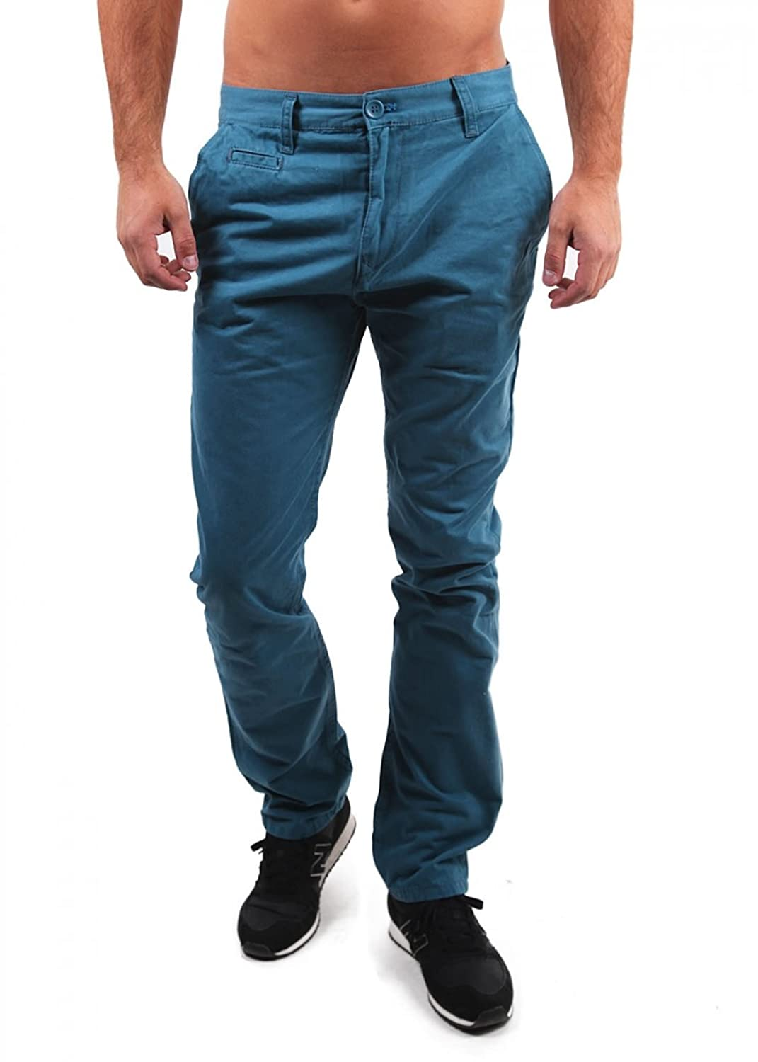 'Redbridge by Cipo & Baxx Chino Trousers RB 201?Oil Green
