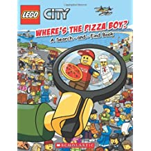 LEGO® City: Where's the Pizza Boy?: A Search-and-Find Book
