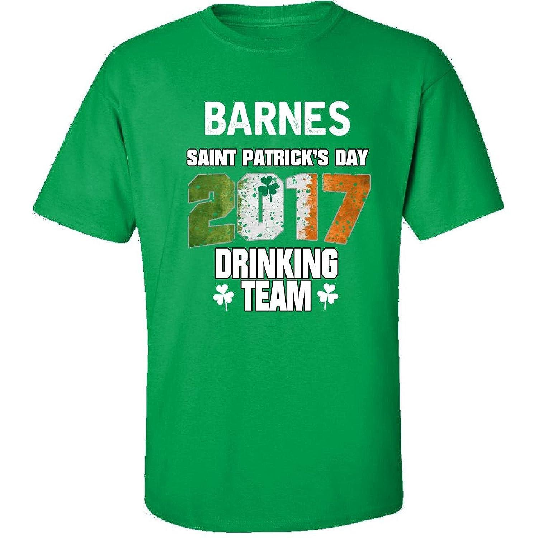 Barnes Irish St Patricks Day 2017 Drinking Team - Adult Shirt