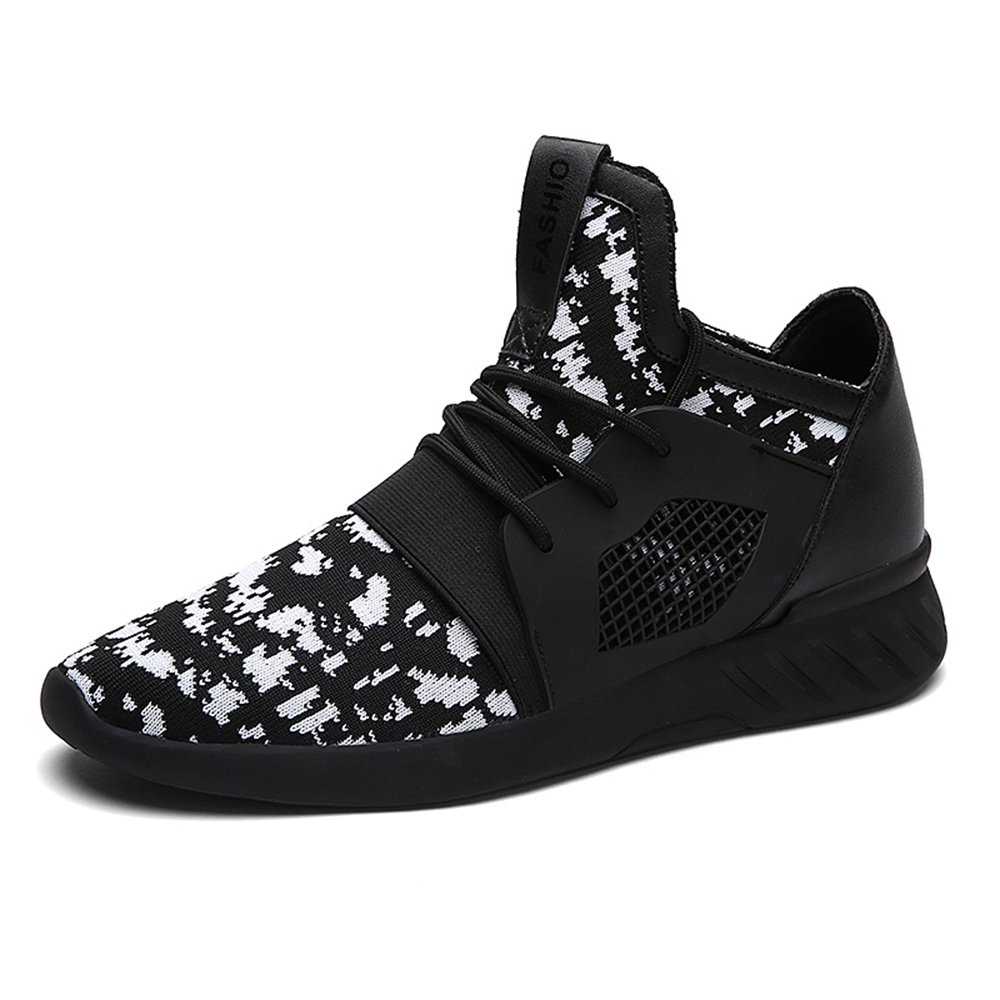 XIANV Sommer Herren Sneaker Mode Casual Schuhe Soft Breathable Mesh Fruuml;hjahr Lace-up Mauml;nner Schuhe Bequeme Schuhe Mauml;nner  42 EU|Wei?