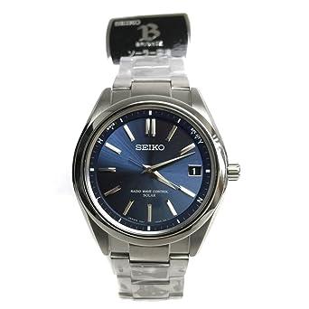 42d66cc246 (セイコー)SEIKO ブライツ SAGZ081 チタンソーラー電波 ネイビー文字盤 腕時計 チタン メンズ 中古