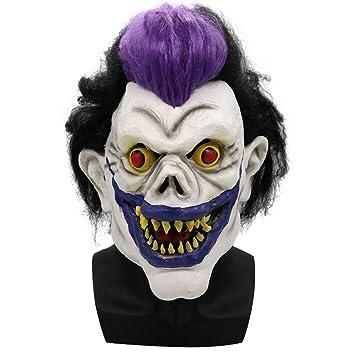 Kugga Disfraz De Halloween Máscara Horror Demonio Fantasma Rey Máscara Facial Máscara De Parodia