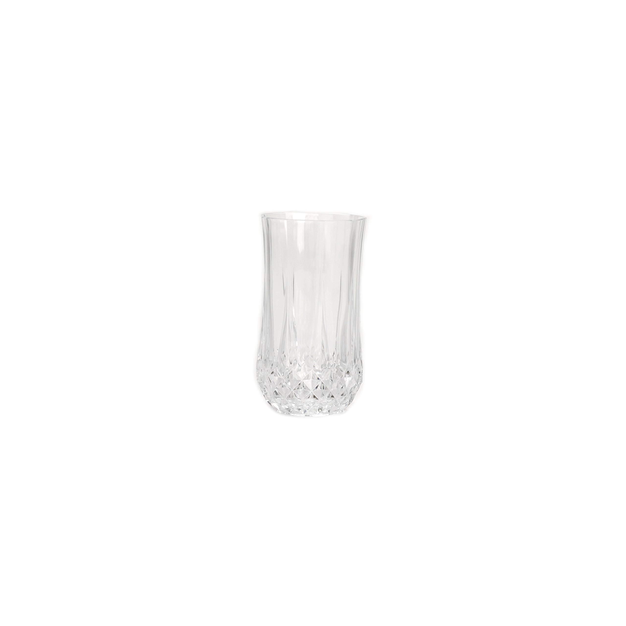 M Block & Sons Longchamp Krystal 12 Ounce Liquor Glass Set of 4