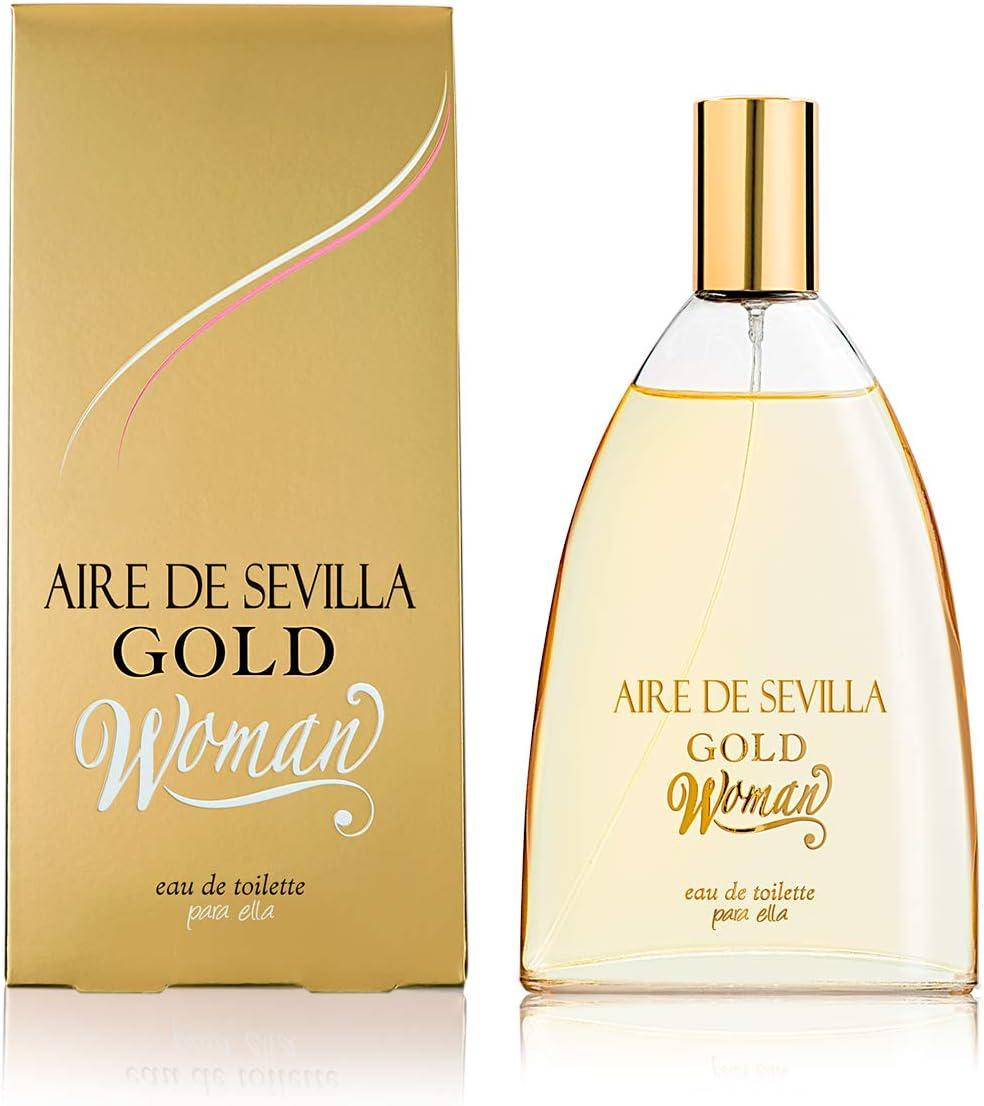 Aire de Sevilla Gold - Perfume Mujer - 150 ML: Amazon.es: Belleza