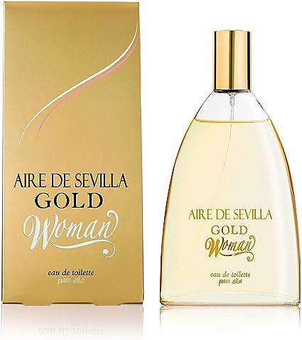 Oferta amazon: Aire de Sevilla Gold - Perfume Mujer - 150 ML