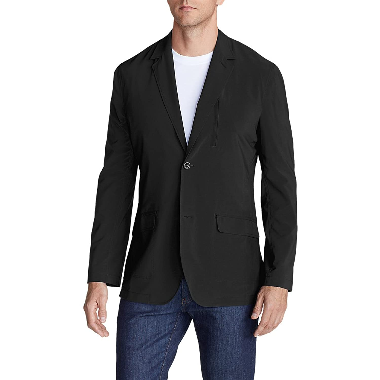 Eddie Bauer Men's Voyager II Travel Blazer at Amazon Men's