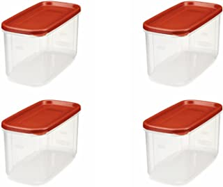 product image for Rubbermaid 10-Cup Dry Food Container (4-Pack), 1, Clear